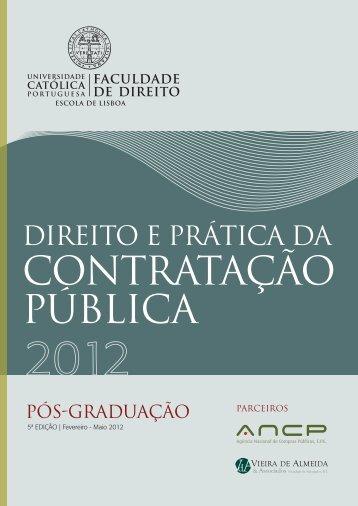 Informação acerca da Pós-Graduação - ANCP