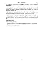 Adult social work - Audit Scotland
