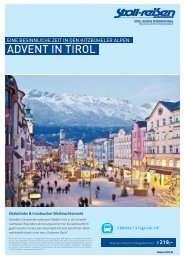 ADVENT IN TIROL - Stoll Reisen International