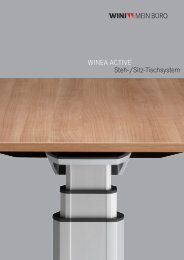 WINEA ACTIVE Steh-/Sitz-Tischsystem - Heinze GmbH