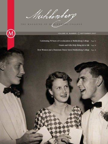 Muhlenberg Magazine Fall 2007 - Muhlenberg College