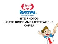SITE PHOTOS LOTTE GIMPO AND LOTTE WORLD KOREA