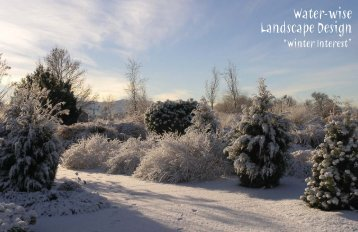 Water-wise Landscape Design - Conservation Garden Park
