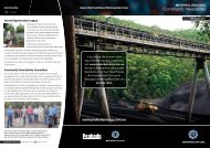 Metropolitan Coal Community Newsletter ... - Peabody Energy