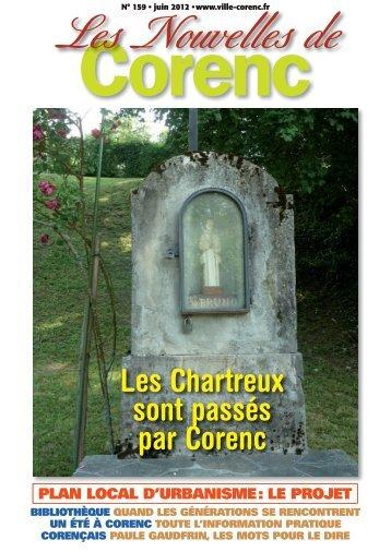Les Chartreux sont passés par Corenc