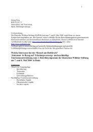 Welche Interessen hat der Mensch am Rothirsch? - Bundesamt für ...