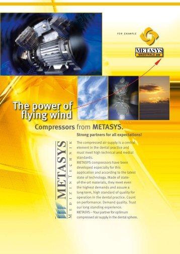 metasys compressors.pdf - PROFI - dental equipment
