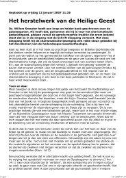 ds. Henk de Jong in Nederlands Dagblad van 12 ... - Smouter.net