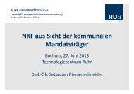 Folien zum Vortrag Riemenschneider - Ruhr-Universität Bochum