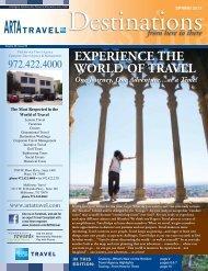 Spring ARTA Destinations 2013 - ARTA Travel