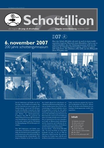 Schottillion Ausgabe Nr. 22 - Alt-Schotten