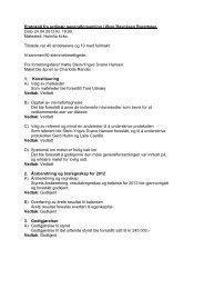 Protokoll fra ordinær generalforsamling i Øvre ... - Herborvi.no
