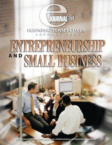 Entrepreneurship and Small Business - Embassy of the United States