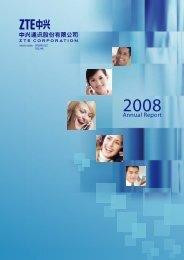 Annual Report 2008 - ZTE