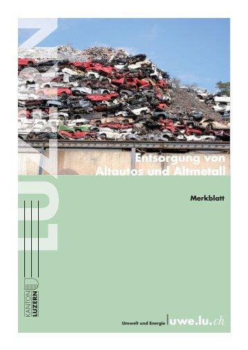 Altmetall magazine - Mobel entsorgung gratis ...