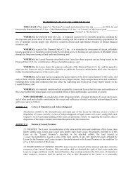 Land Lease - Diamond State Community Land Trust