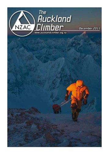 Auckland Climber - New Zealand Alpine Club