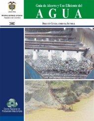 Guía de ahorro y uso eficiente del agua - BVSDE