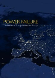 POWER FAILURE - The Stockholm Network