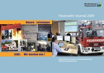 Feuerwehr-Journal 2009 - Regierungsportal Mecklenburg ...