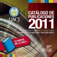 Novedades editoriales - Universidad Autónoma de Ciudad Juárez