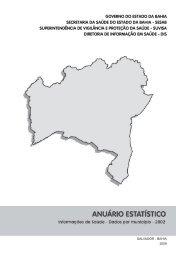 Dados 2002 - Sesab