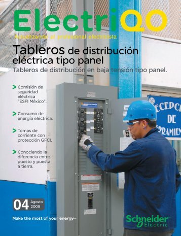 Tableros de distribución eléctrica tipo panel - Schneider Electric