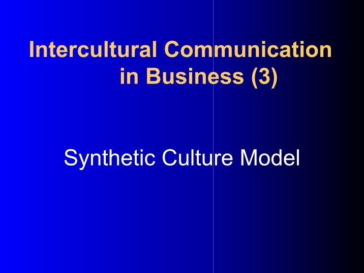 cross cultural communication matrix Opportunities for cross-cultural miscommunication arise daily for those who offers a program in cross-cultural communication team building for matrix teams.