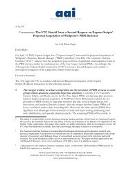 White Paper - American Antitrust Institute