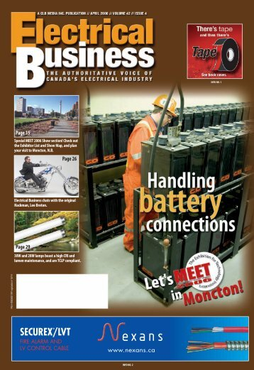 April 2006.pdf - Electrical Business Magazine