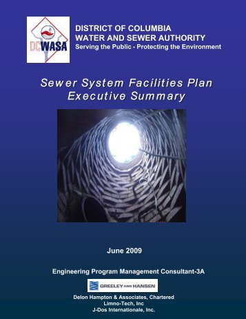 Sewer System Facilities Plan Executive Summary - DC Water