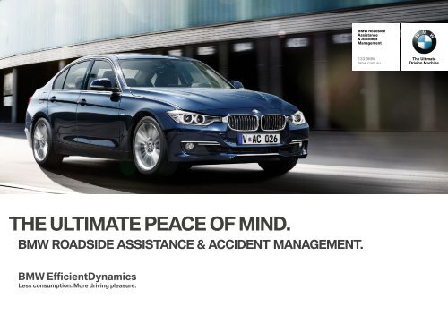 The Ultimate Peace Of Mind Bmw Roadside Assistance