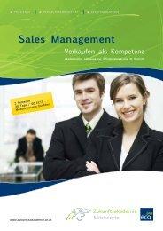Sales Management Folder - Austrian Marketing University of Applied ...
