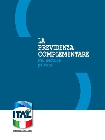 La Previdenza Complementare nel Settore Privato - UIL Basilicata