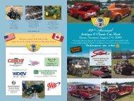 Antique and Classic Car Show - Vermont Automobile Enthusiasts