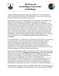 MMMMMMM - Feuerwehr Musikzug Artlenburg & Musikverein ev.