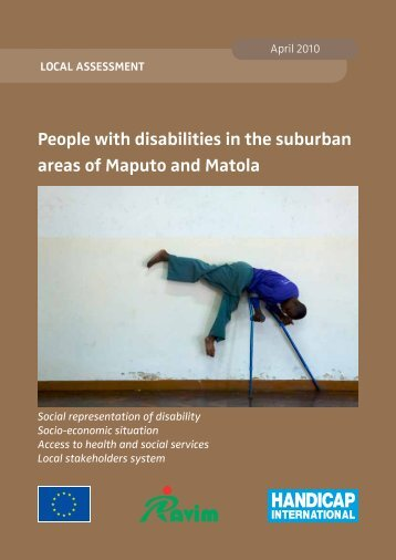 People with disabilities in the suburban areas of Maputo and Matola