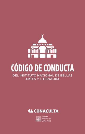 Código de conducta del INBAL - Instituto Nacional de Bellas Artes