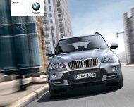 BMW X5 Alla modeller och tekniska data (PDF, 4,6 MB).
