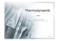 Thermodynamik - Grundlagen - Pflumm.name