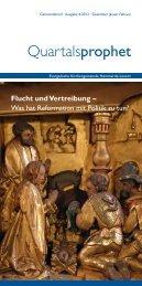 Der aktuelle Gemeindebrief - Evangelische Kirchengemeinde ...