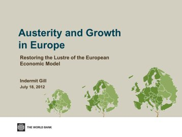 Austerity and Growth in Europe - CFO Insight