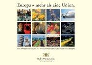 Europa - Wirtschaft und Stadtmarketing Pforzheim | WSP