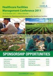 Sponsorship Opportunities Brochure PDF