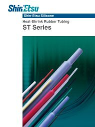 Heat-Shrink Rubber Tubing ST Series