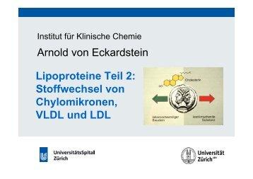 Lipoproteine Teil 2 - Institut für Klinische Chemie