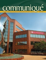 Communiqué - Reading Area Community College