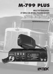27-Mhz-Cb-Mobiltransceiver M-799 PLUS