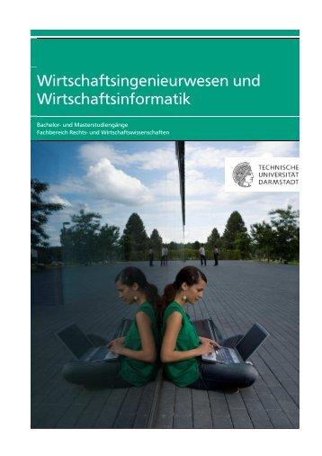 Wirtschaftsingenieurwesen und Wirtschaftsinformatik - Fachbereich ...