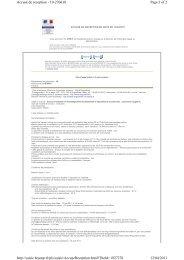 Page 1 of 2 Accusé de reception - 10-270618 12/04/2011 http ...